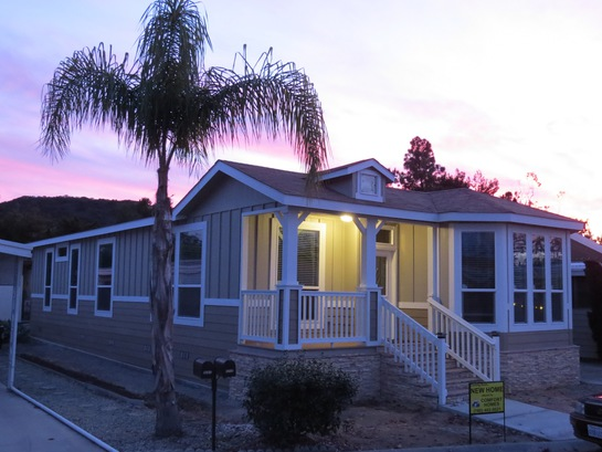 Orange Mobile Home Park In California